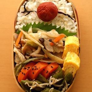ジンギスカン風の野菜炒め
