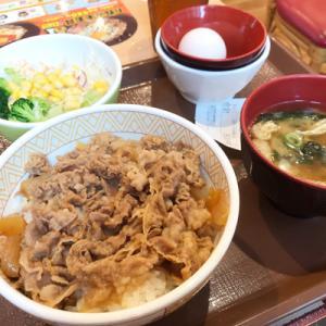 すき家 港南二丁目店/お得な牛丼(並盛)ランチセット