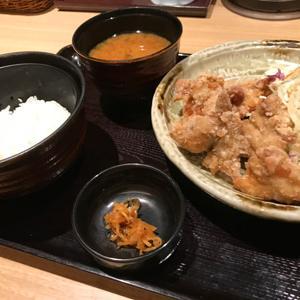 ここの 品川インターシティ店/竜田揚げ風のサクサク衣の唐揚げ定食