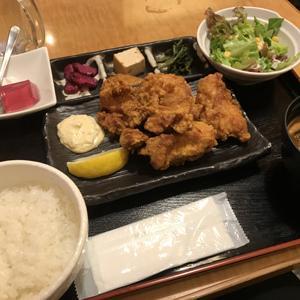 風来坊 品川店/昼食に困ったらここの鶏の唐揚げ定食!