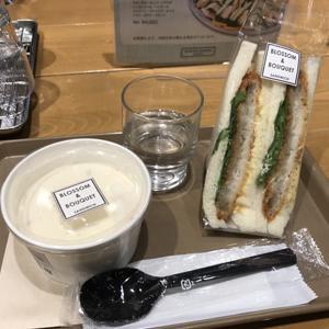ブロッサム アンド ブーケ デリ カフェ 品川シーズンテラス店/サンドイッチとスープセット