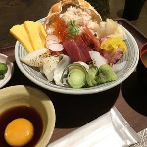 霧乃個室 清郎 品川/めちゃくちゃ豪華な海鮮丼をランチでお手軽に