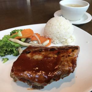 アウトバック ステーキハウス 品川港南店/ソースがおいしいBBQリブ・ランチ