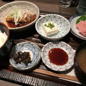 寿司の磯松/煮魚とネギトロのお得な和食ランチ