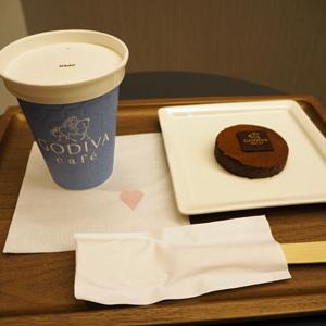 ゴディバカフェ/東京駅エキソトのチョコレートカフェ