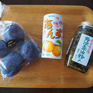 銀座NAGANO/長野県のアンテナショップでお買い物