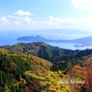 成相山から望む