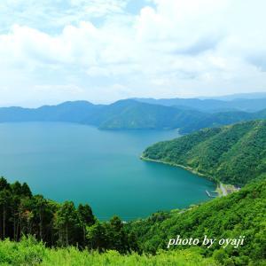 賤ケ岳山頂から望む琵琶湖