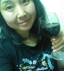 本日の晩酌写メ☆赤ワイン飲んでポリフェノール補給☆
