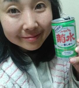 本日の晩酌写メ☆新米新酒ふなぐち菊水飲んでいます☆
