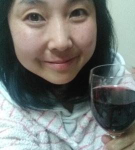 本日の晩酌写メ☆イタリアワインで乾杯タイム☆