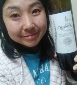 本日の晩酌写メ☆カルサーダ・クイネア クイネア・クリアンサ2014飲んでいます☆