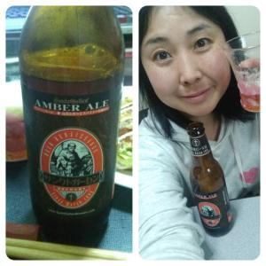 昼飲みタイム☆元祖地ビールサンクトガーレン飲んでいます☆