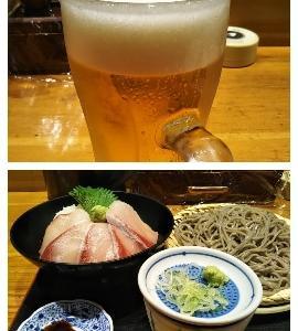 久しぶりの生ビール!