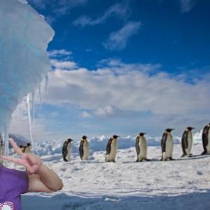 おはよう☆気持ちだけ南極で冷や冷や!