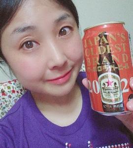 本日の晩酌写メ☆サッポロラガービール飲んでいます♪