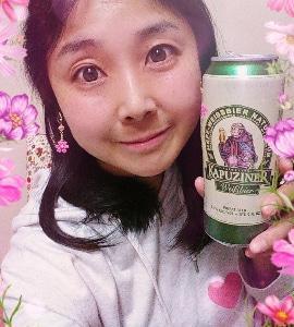 本日の晩酌写メ☆クルンバッハ カプツィーナヴァイツェン飲んでいます♪