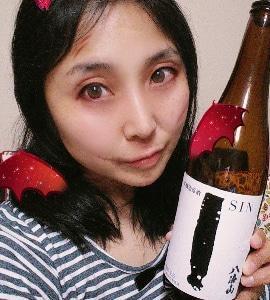 本日の晩酌写メ☆八海山本醸造原酒飲んでいます♪