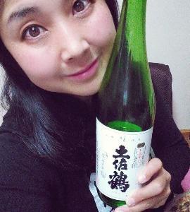 本日の晩酌写メ☆土佐鶴飲んでいます♪
