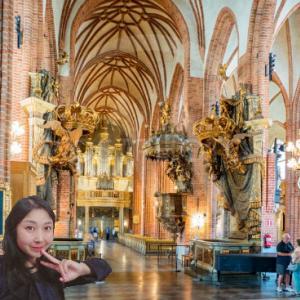 おはよう☆気持ちだけストックホルム大聖堂!