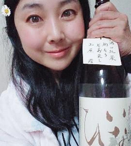 本日の晩酌写メ☆鳥取のお酒稲田姫飲んでいます♪