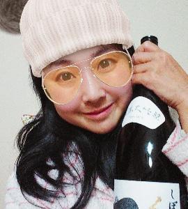 本日の晩酌写メ☆くどき上手しぼりたて純米大吟醸飲んでいます♪