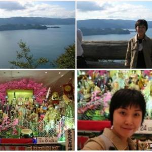 おはよう☆旅の思い出in十和田湖と八戸三社大祭の山車!