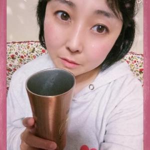本日の晩酌写メ☆梅酒飲んでいます☆