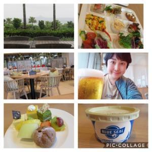 沖縄でランチブッフェとオリオン生ビール!