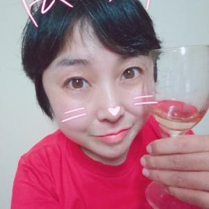 本日の晩酌写メ☆泡盛スパークリング美味しかった!