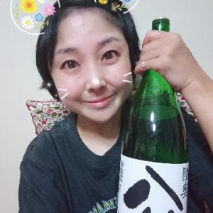 本日の晩酌写メ☆陸奥八仙特別純米酒飲んでいます☆
