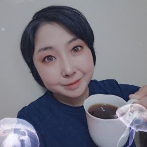 おはよう☆気持ちだけクラゲに囲まれる朝のコーヒータイム☆