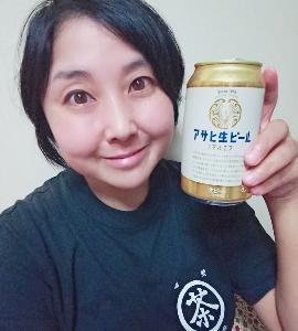 本日の晩酌写メ☆アサヒ生ビールマルエフ飲んでいます☆