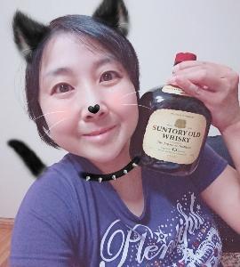本日の晩酌写メ☆サントリーオールド飲んでいます☆