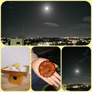 昨日はお月見したよ! & 本日締め切りです=9/23(木)おしゃべり会 + 9/24(金)栗拾い