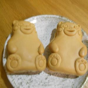 くまモンの人形焼き。