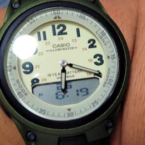 腕時計死亡