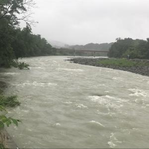 7月4日(土)荒川柳大橋の河川情報