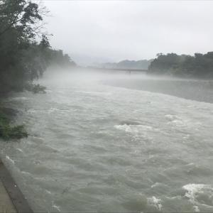 7月6日(月)荒川柳大橋の河川情報