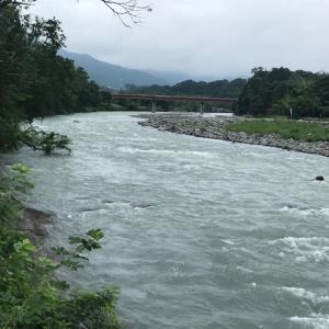 7月13日(月)荒川柳大橋の河川情報