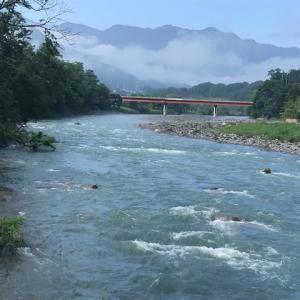 7月19日(日)荒川柳大橋の河川情報