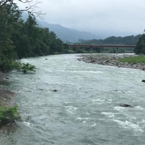 7月21日(火)荒川柳大橋の河川情報