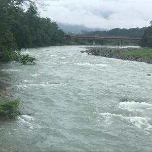 7月24日(金)荒川柳大橋の河川情報
