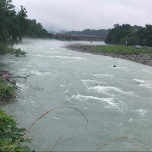 7月31日(金)荒川柳大橋の河川情報