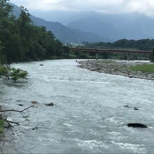 8月2日(日)荒川柳大橋の河川情報