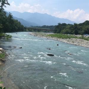 8月5日(水)荒川柳大橋の河川情報