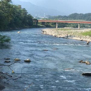 8月6日(木)荒川柳大橋の河川情報