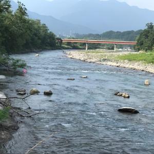 8月10日(月)荒川柳大橋の河川情報