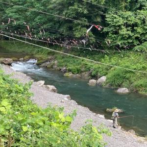 6月13日(日)秩父フライフィールドの河川情報