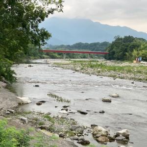 6月13日(日)荒川本流柳大橋の河川情報